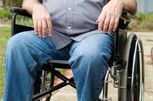 Paraplegic In Wheelchair